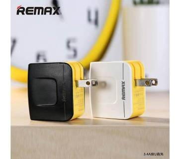 Remax RMT6188 USB Charger Dual Port 3.4A
