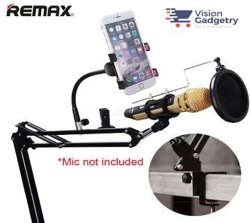 Remax RM-KO2 Microphone & RM-CK100 মোবাইল রেকর্ডিং স্টুডিও সেট