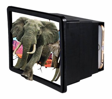 TV Shaped Mobile Screen Magnifier