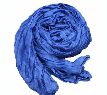 ladies cotton and polyester scarf