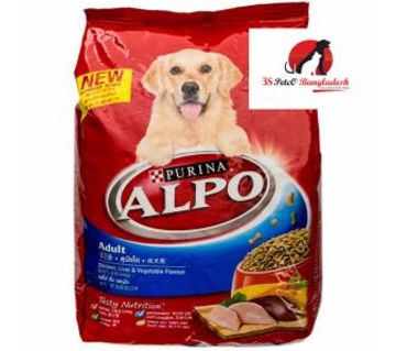 Alpo Adult Chicken Liver&veg Flavor 1.5kg (ডগ ফুড)