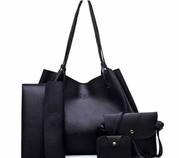 Ladies bag- 4 pieces set