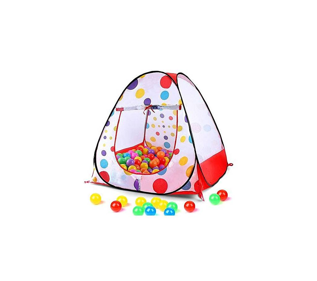 White & Red Tent Play House For Kids বাংলাদেশ - 726916