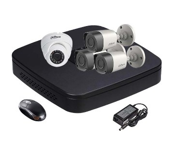 HD CCTV camera DVR full package- 3 pc