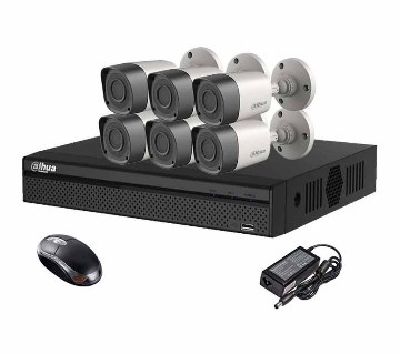 HD CCTV camera DVR full package- 6 pc