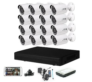 HD CCTV camera DVR full package- 15 pc
