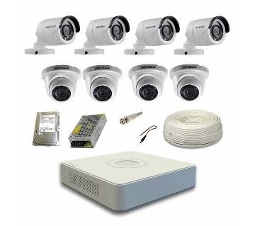 2nos HD CCTV ক্যামেরা উইথ DVR হার্ডডিস্ক