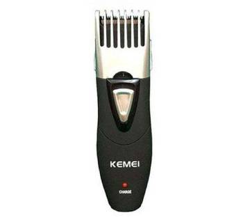 Kemei KM-3060 Rechargeable Electric Hair Clipper/Trimmer - Black