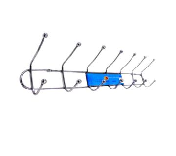Double Row Stainless Steel-7 Hook Hanger