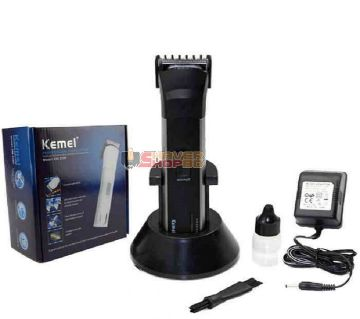 KM-2599 Rechargeable Trimmer - Black