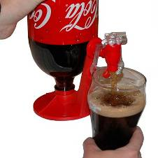 FIZZ SAVER Soft Drinks Dispenser