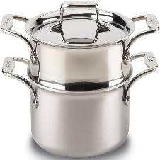 Stainless Steel স্টীমার - Silver