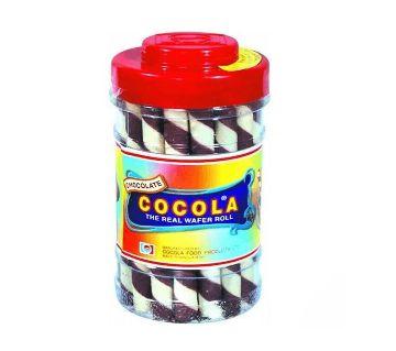 Cocola Chocolate Wafer Roll Jar 280 gm