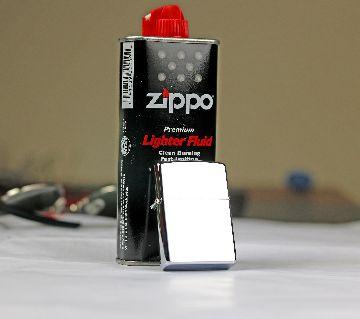 Zippo Lighter with Lighter Fluid SET