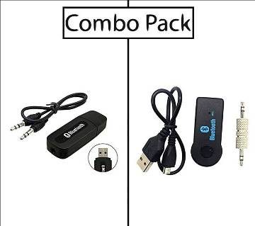 Combo of Bluetooth Music Receiver with Hands free