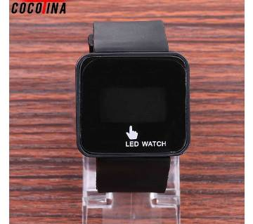 Touch Screen LED Watch Sports Silicon