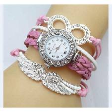 Light Pink Analog Watch For Women