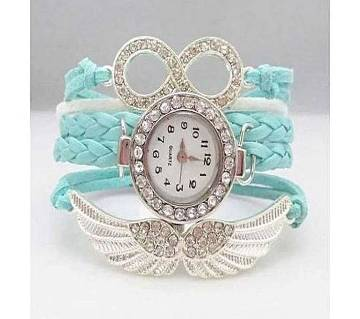 Blue Analog Watch For Women
