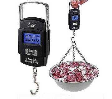 Digital Weight Scale - Black