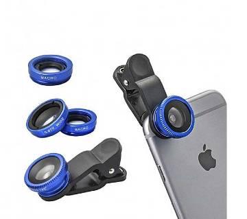 Universal Clip Lens For Mobile - Blue