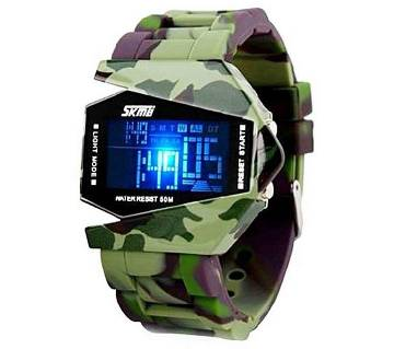 Multi-color Silicone LED Watch for Men