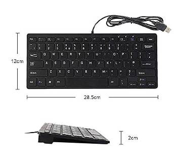 Mini Slim USB Key Board