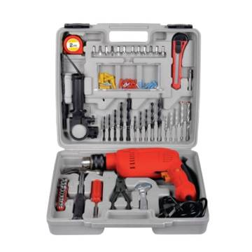 Electric Hand Drilling Machine with 100pcs Accessories