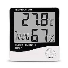 Digital Room Temperature Meter - Black and White