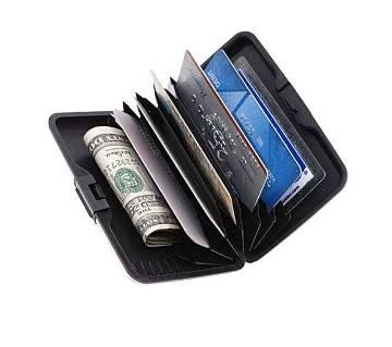 Waterproof Credit Card Holder - Black