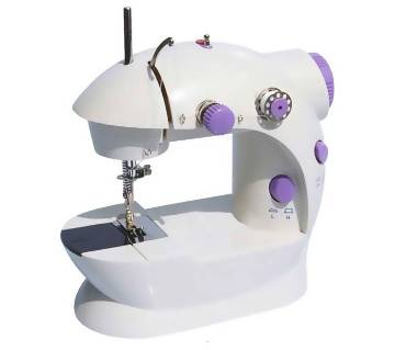 4 in 1 Electric Sewing Machines - White and Purpl