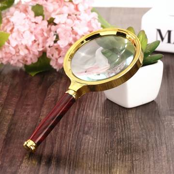 Jewelry Loupe Magnifying Glass – Gold
