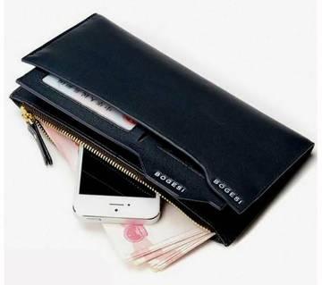 Bogesi Long Wallet - Black