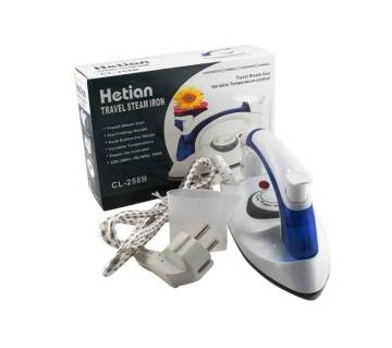 Portable Hetian Travel Iron - CL-258B - White