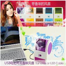 Mini USB Double Outlet Air Conditioner -