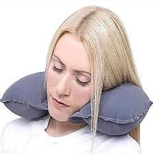 Portable Travel Air Pillow - Ash
