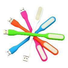 Pack Of 5 LED USB Light - Multi Color