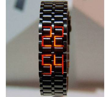 Samurai chain Strap LED Faceless Watch