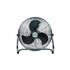 Speed Stormy 5 Blade Table Fan - Black and Silver
