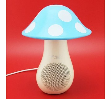 USB Mushroom Shaped LED Light cum Speaker