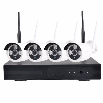 WIFI IP CAMERA PACKAGE 4 Channel