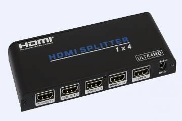 4K HDMI Splitter 1x4 1 Input 4 Output