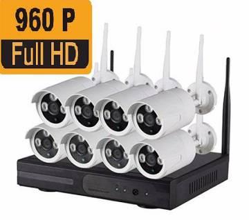 8 চ্যানেল 1.3 MP Wi-Fi IP ক্যামেরা