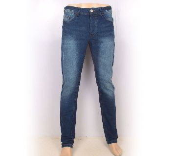 Bershka Semi Narrow Denim Jeans Pants
