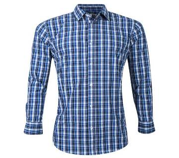 Multicolor Casual Check Shirt For Men
