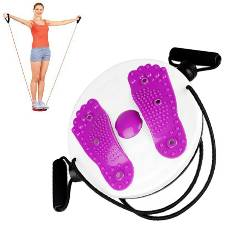 Waist Twister Pad with Resistance Band