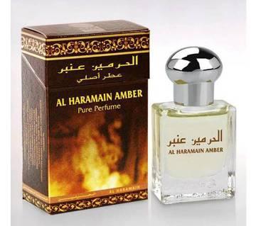 Al Haramain Amber- পিউর পারফিউম ফর মেন 15ml- Dubai