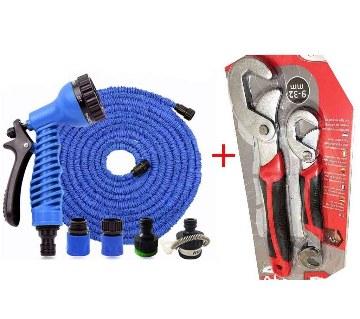 Magic hose pipe (70 feet)+ SNAP & GRIP range combo