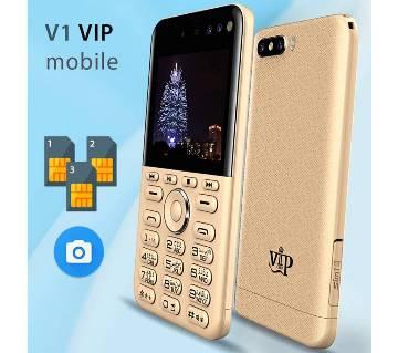 VIP V1 3-Sim 4 camera কার্ড ফোন ব্লুটুথ
