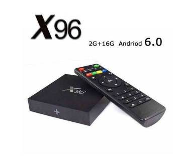X96 4K Android Smart TV Box 2GB 16GB