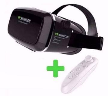 SHINECON VR বক্স উইথ রিমোট কন্ট্রোল